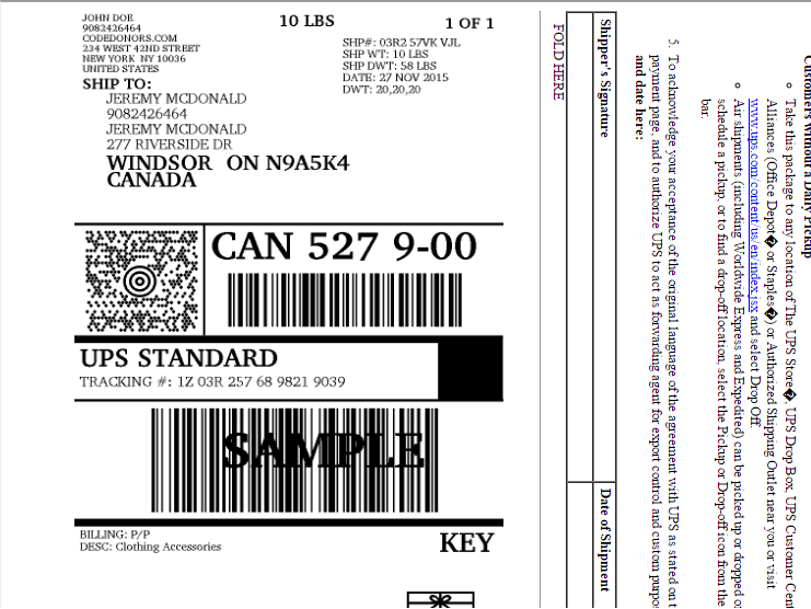 ... UPS Label for Laser Printing ...  sc 1 st  CodeDonors.com & UPS Complete for VirtueMart - VirtueMart Shipping Extensions Aboutintivar.Com
